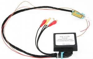 OUTPUT AUDIO/VIDEO (RGB-CINCH) DO VW RNS-510
